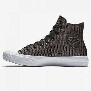 Converse Chuck Taylor Perforated Hightop Sneakers